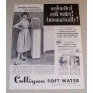 1957 Culligan Water Softener Vintage Print Ad