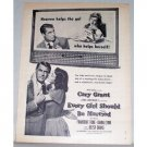 1949 Vintage Movie Ad Every Girl Should Be Married Celebrity Cary Grant