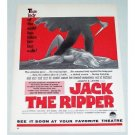 1960 Color Print Movie Ad JACK THE RIPPER Celebrity Joseph Levine
