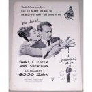 1948 Vintage Movie Ad GOOD SAM Celebrity Gary Cooper Ann Sheridan