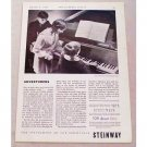 1931 Steinway Baby Grand Piano Vintage Print Ad - Adventurers