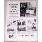 1955 RCA Victor Clock Radios Vintage Print Ad