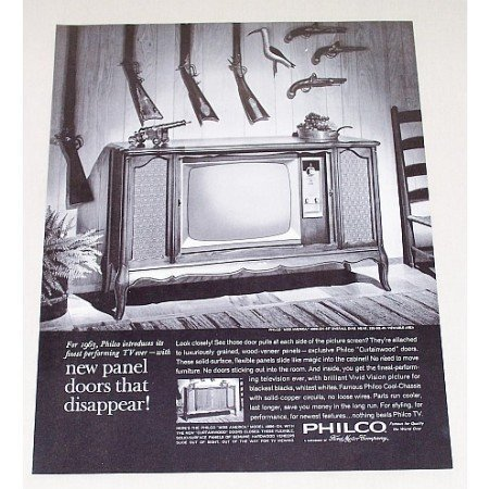 1963 Philco Miss America 23 Television Vintage Print Ad