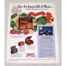 1946 Zenith Model 12H092R Radio Phonograph Color Print Ad