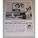 1955 RCA Victor Model 24S512 Baylor 24in Television Vintage Print Ad
