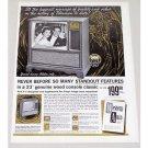 1961 Western Auto Truetone 23 Television Color Print Ad