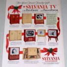 1953 Sylvania Television Halolight Photopower Color Print Ad