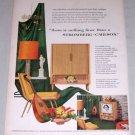 "1953 Stromberg Carlson The Empire 24"" Tube TV Color Print Ad"
