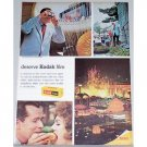 1965 Kodak Film Color Print Ad - Memory To Live Over