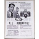 1957 Praktica FX3 Camera Vintage Print Ad - 3 At A Price