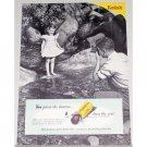 1948 Kodak Verichrome Film Vintage Print Ad - You Press The Button