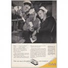1945 Kodak Verichrome Film Navy Men Wartime WWII Vintage Print Ad
