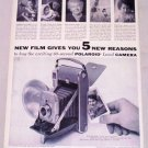 1955 Poloroid Land Camera Vintage Print Ad