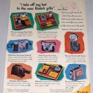 1953 Kodak Cameras Color Print Art Ad - Kodak Gifts