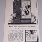 1954 Bell Howell 220 Wilshire Movie Camera Vintage Print Ad
