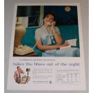 1958 Bell Telephone System Color Print Ad - Takes The Blues Out
