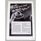 1937 Bell Telephone System Vintage Print Ad - See This Before?
