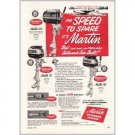 1951 Martin Outboard Boat Motors Vintage Print Ad - For Speed To Spar