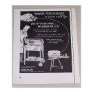 1955 Kamkamp's Kook-Out Grills Vintage Print Ad