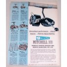1960 Garcia Mitchell 300 Spinning Reel Color Print Ad