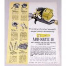 1960 Garcia Abu-Matic 40 Fishing Reel Color Print Ad