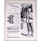1957 Bushnell Rangemaster Binoculars Vintage Print Ad
