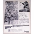 1967 Mossberg 800 Rifle Vintage Print Ad Celebrity Robert Stack