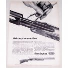 1961 Remington Model 870 Wingmaster Pump Shotgun Vintage Print Ad