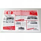 1950 Silver Streak HO Scale Train Kits Color 2 Page Print Ad Old Timer