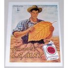 1945 Lucky Strike Cigarettes Tobacco Art Color Print Ad - You Said It!