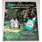 1962 Salem Cigarettes Vintage Print Ad - Salem Makes It Springtime