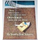 1948 Old Gold Cigarettes Color Print Ad - Were Tobacco Men