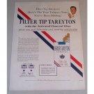 1955 Herbert Tareyton Cigarettes Color Tobacco Print Ad