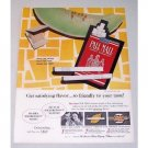 1960 Pall Mall Cigarettes Color Tobacco Print Ad - Always Just Right