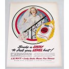 1949 Lucky Strike Cigarettes Wedding Art Vintage Tobacco Print Ad - Wedding Bride