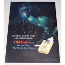1950 Old Gold Cigarettes Fireworks Color Tobacco Print Ad - Shoot The Works