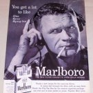 1956 Marlboro Cigarettes Vintage Tobacco Print Ad - Get A Lot To Like