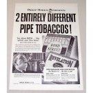 1946 Revelation Bond Street Pipe Tobaccos Vintage Print Ad