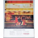 1964 Honda 4 Stroke 50cc Cycle Color Print Ad