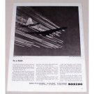 1945 Boeing B-29 Superfortresses Plane Aviation Vintage Print Ad