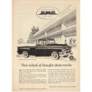 1955 GMC Hydra-matic V8 Runabout Pickup Truck Vintage Print Ad