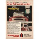 1955 International S-Line Trucks Color Print Ad