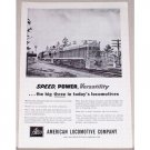 1954 American Locomotive Co. Georgia 137 Train Vintage Print Ad