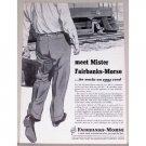 1953 Fairbanks Morse Railroad Color Print Ad - Meet Mister