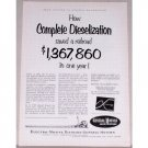 1953 General Motors Locomotives Vintage Print Ad - Dieselization