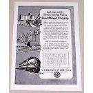 1954 Minneapolis & St Louis Railway Vintage Print Ad - Good Crops