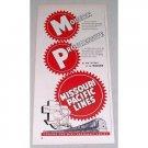 1954 Missouri Pacific Lines Color Railroad Vintage Print Ad
