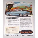 1951 Buick Eight Dynaflow Color Print Automobile Car Ad