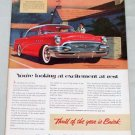 1955 Buick Super Riviera 2 Dr Hardtop Automobile Color Print Car Ad