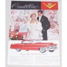 1955 Cadillac 2 Door Hardtop Automobile Color Print Car Ad  - Maybe This Year